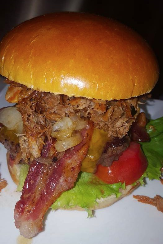 Time Out Pub & Eatery burger