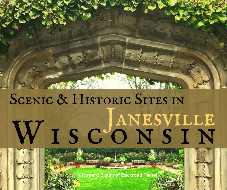 Tour Scenic & Historic Sites in Janesville, Wisconsin