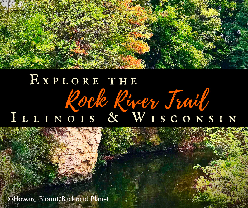 Explore Janesville's Segment of the Rock River Trail with BackRoad Planet!